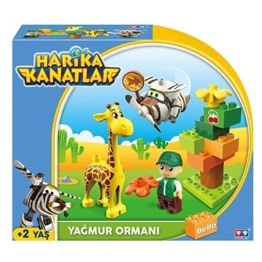 HARİKA KANATLAR Oyuncak Figür Renkli